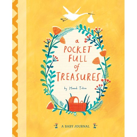 A Pocket Full of Treasures : A Baby Journal