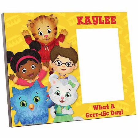 Personalized Daniel Tiger's Neighborhood Daniel and Friends Picture Frame (Personalized Halloween Frames)