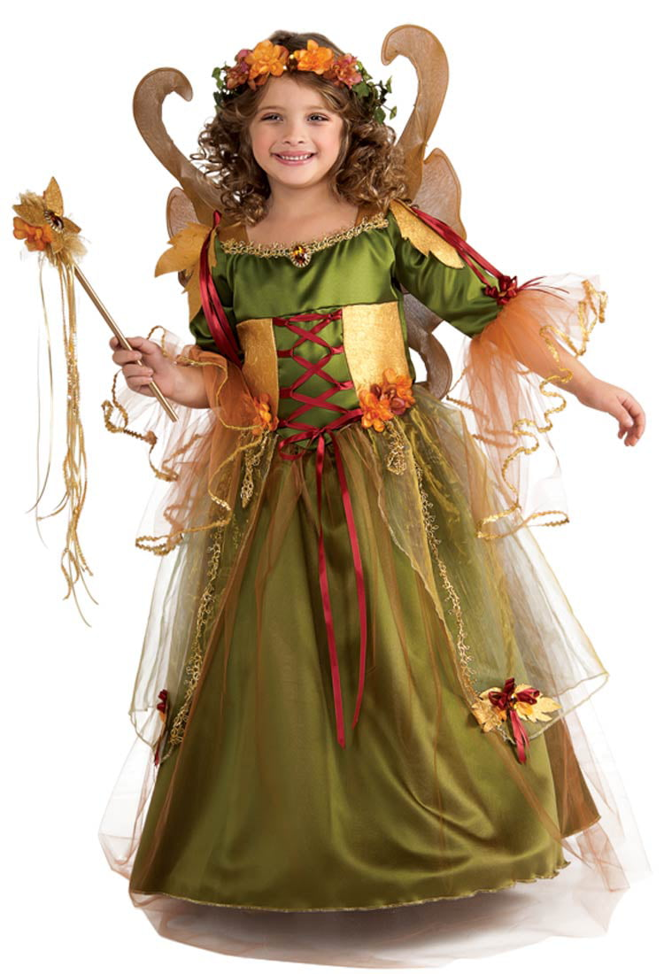 a2f15f11779 Forest Fairy Queen Girls Costume - Walmart.com