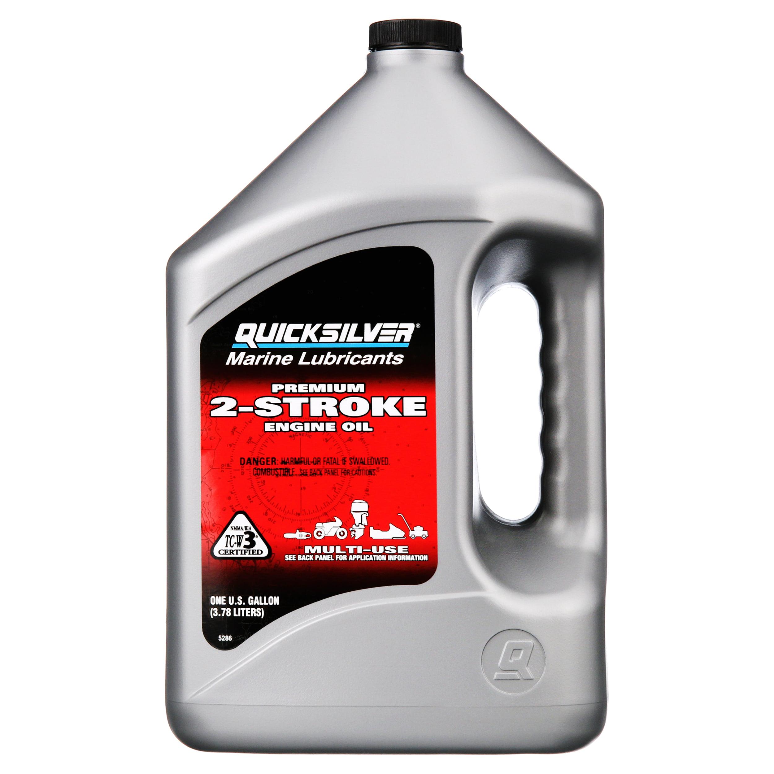 Quicksilver Premium 2-Stroke Engine Oil – Outboards, PWCs