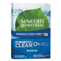 Seventh Generation Free & Clear Dishwasher Detergent Powder, 75 oz
