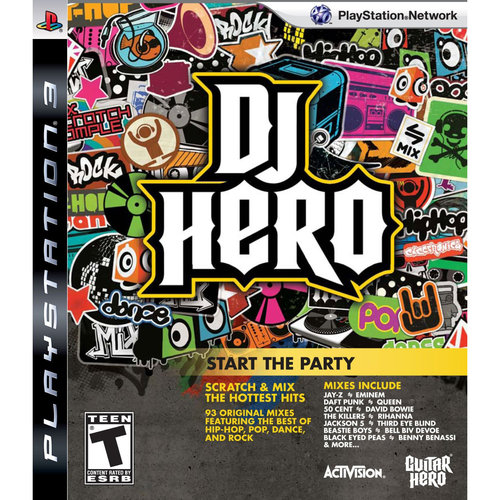 DJ Hero Game Only (PS3) - Pre-Owned