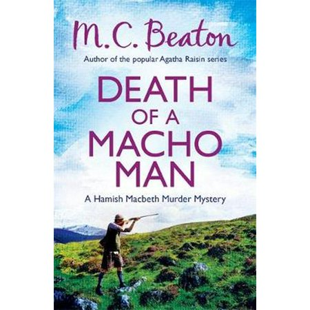 Death of a Macho Man (Hamish Macbeth) (Paperback)