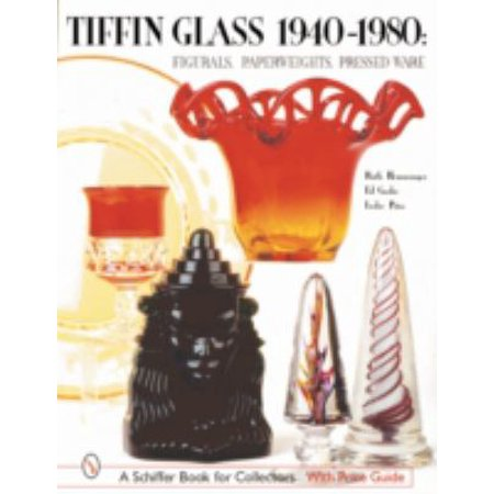 Tiffin Glass 1940-1980: Figurals, Paperweights, Pressed Ware