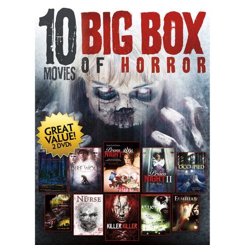 10-Movie Big Box of Horror Collection (DVD) - Walmart.com ...