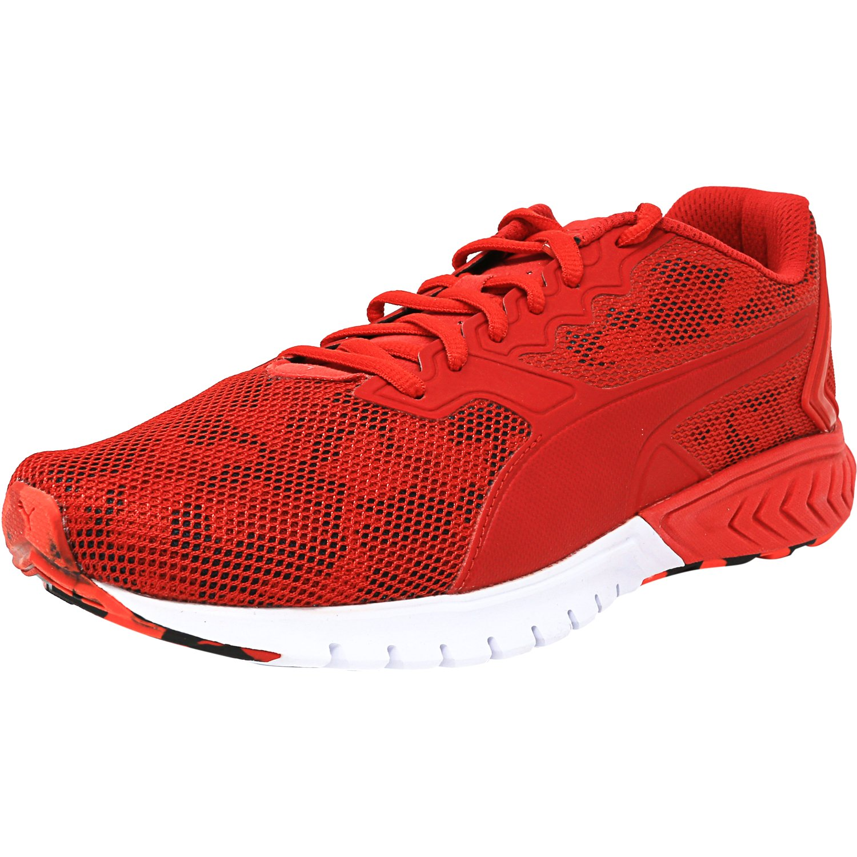 304d0c2b0061 PUMA - Puma Men s Ignite Dual Camo High Risk Red Ankle-High Running Shoe -  7M - Walmart.com