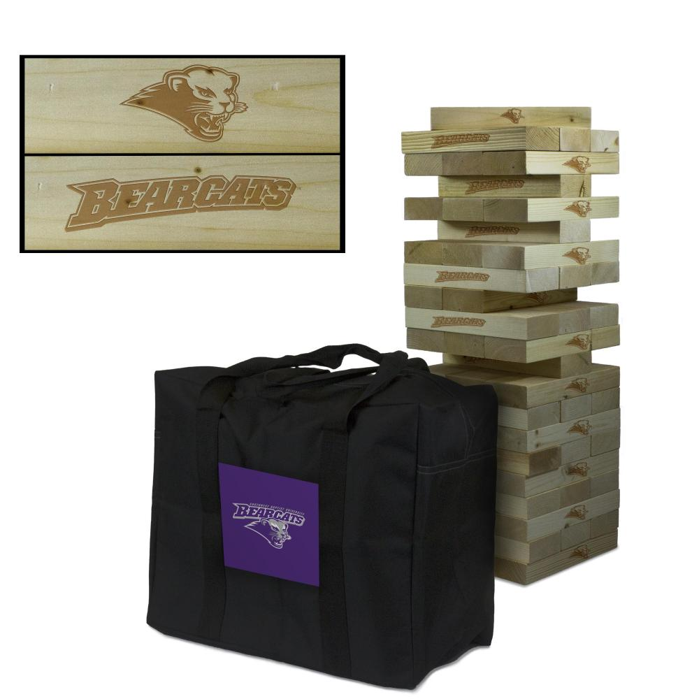 Southwest Baptist Bearcats Giant Wooden Tumble Tower Game