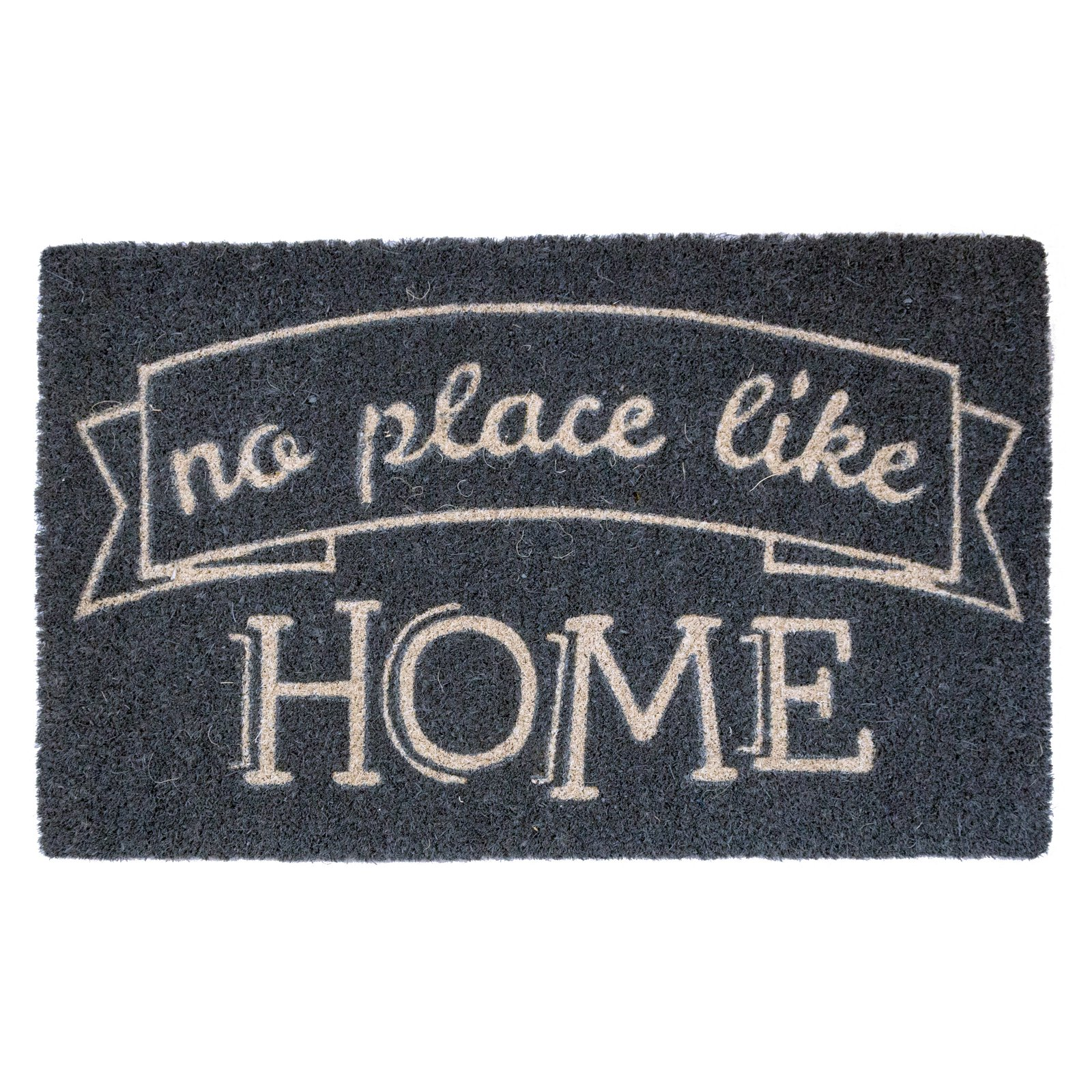 Entryways Like Home Non Slip Coir Door Mat