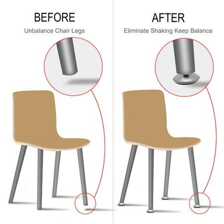 M8x18x40mm Furniture Glide Leveling Feet Adjustable Leveler Stool Sofa Leg 8pcs - image 4 de 7