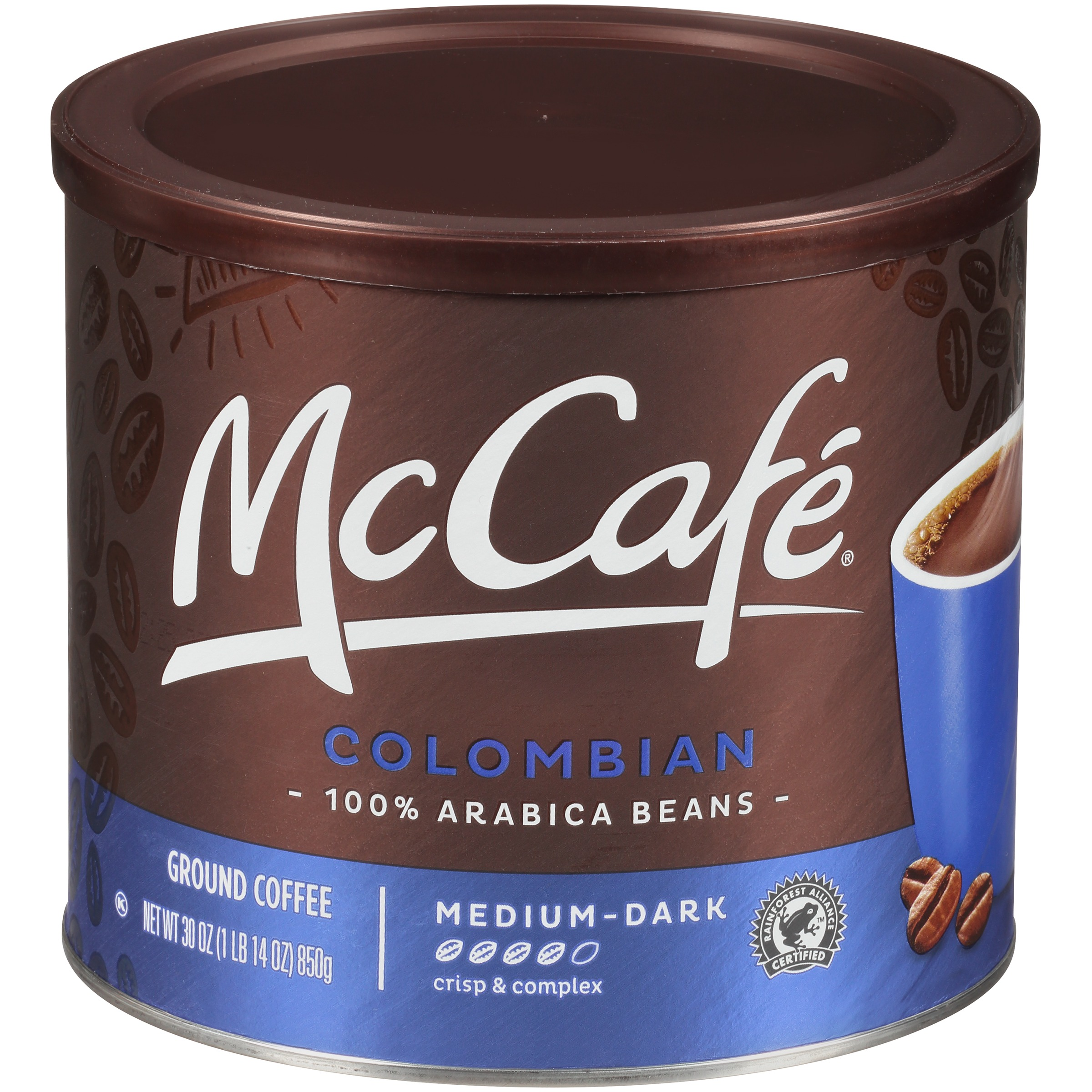 McCafé Colombian Ground Coffee 30 oz. Canister
