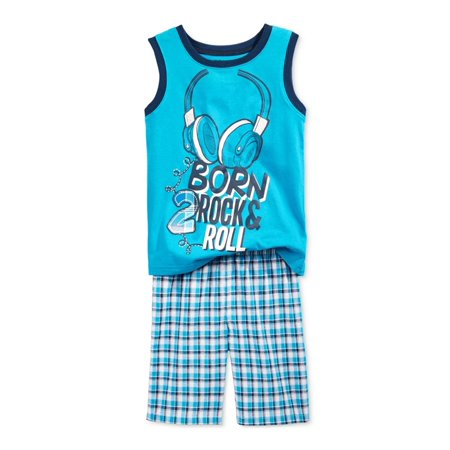 Nannette Boys Rock & Roll 2-Piece Tank Top - Rock And Roll Outfits
