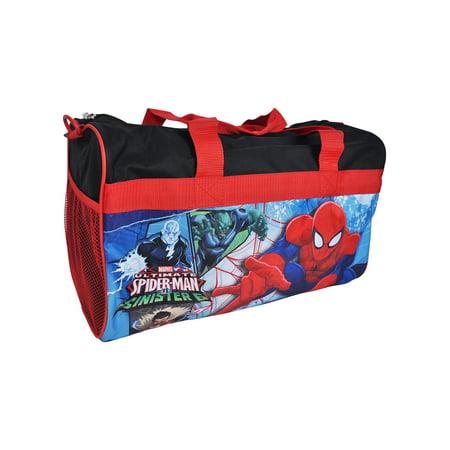 Spider-man Duffel Bag 18 (Spider Man Bag)