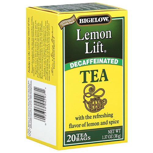 Bigelow lemon lift