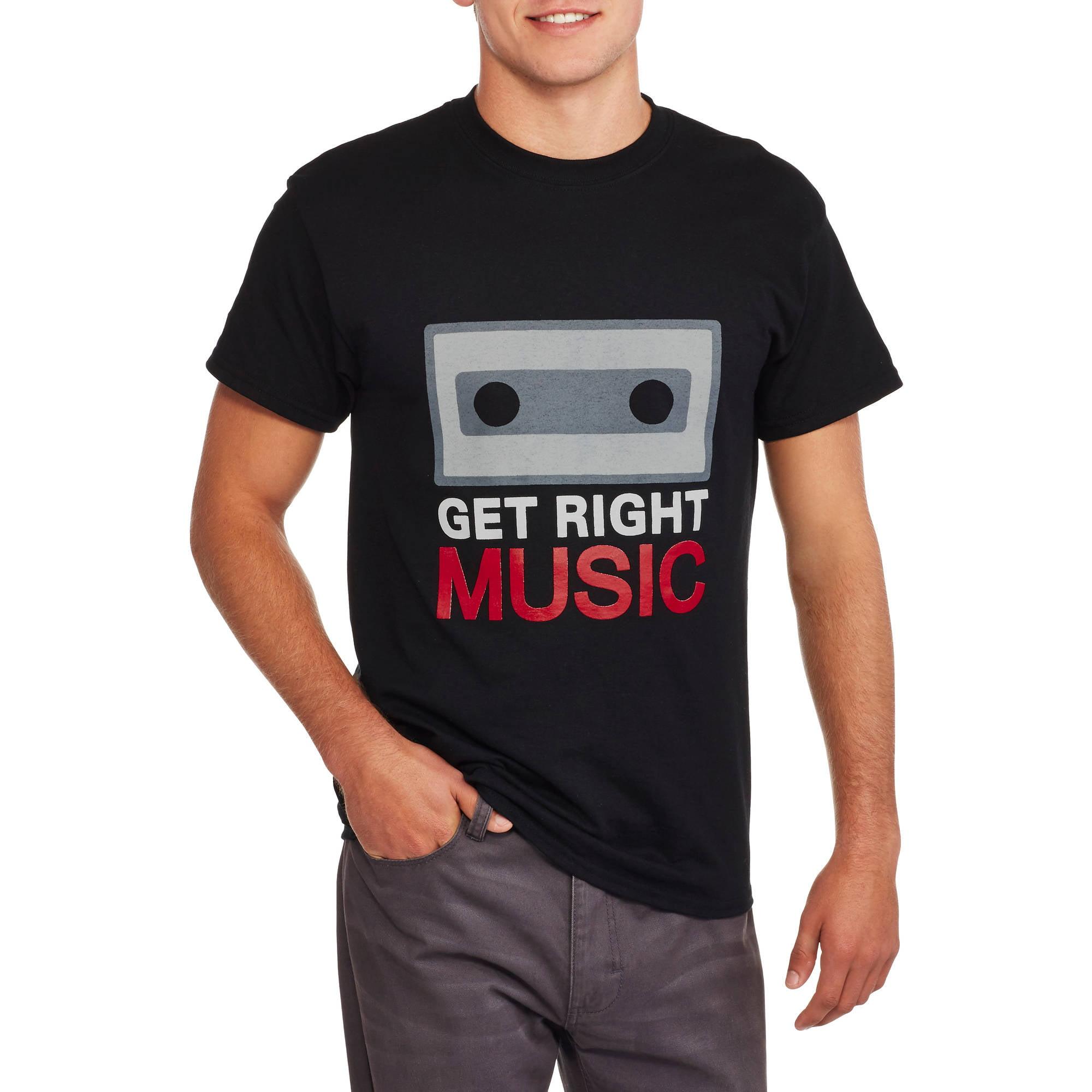 Get Right Music Men's Classic Tee