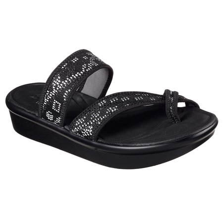 Skechers Womens Size 8 Relaxed Step with Luxe Foam Black