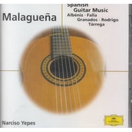 Malaguena: Spanish Guitar Music - Eloquence (CD) (Best Latin Guitar Music)