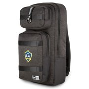 LA Galaxy New Era Slim Tech Backpack - Heathered Black