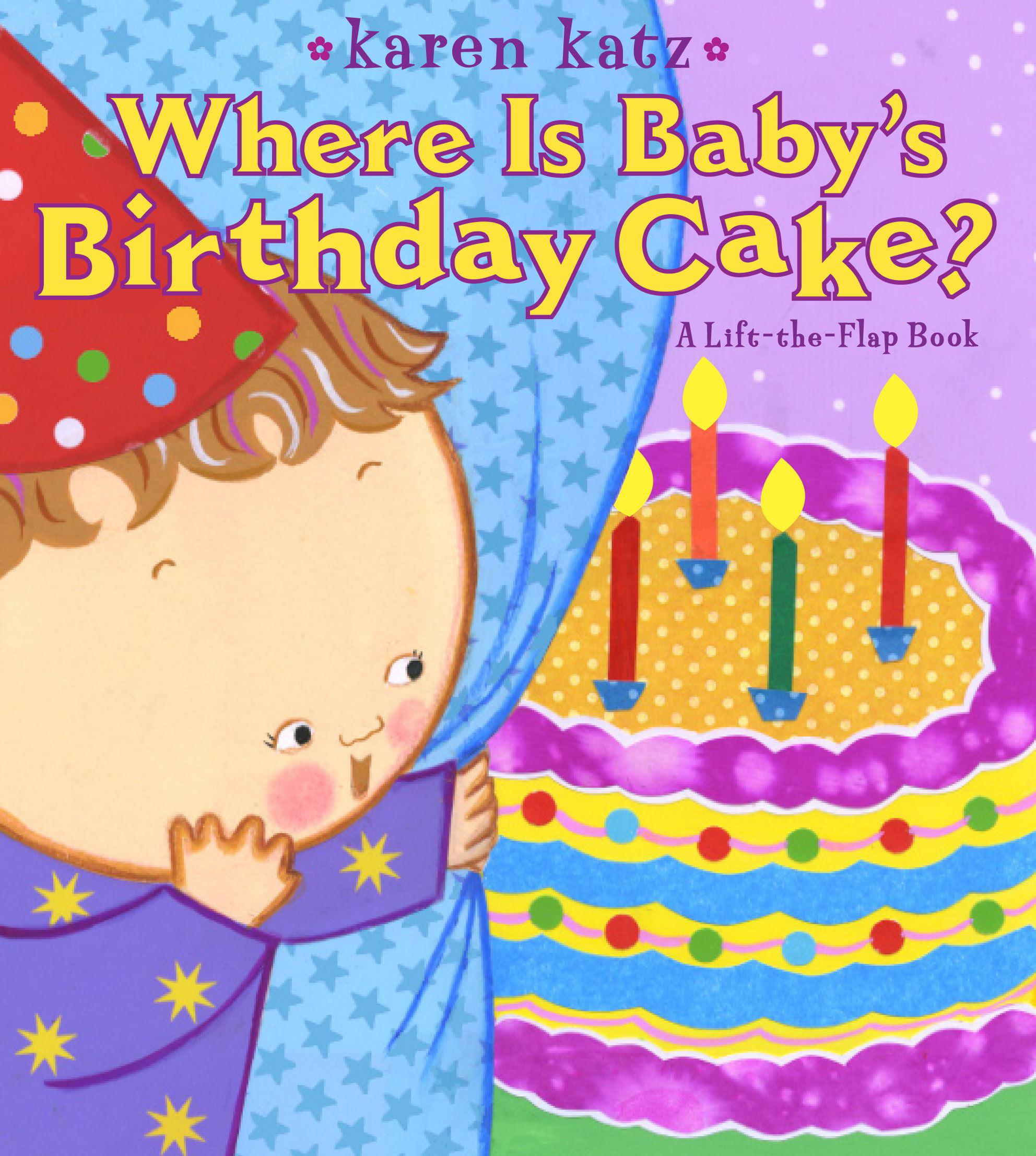 Where Is Babys Birthday Cake (Board Book)