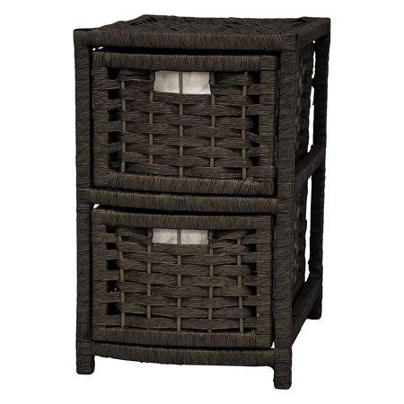Natural Fiber Occasional Chest, 4 Drawer