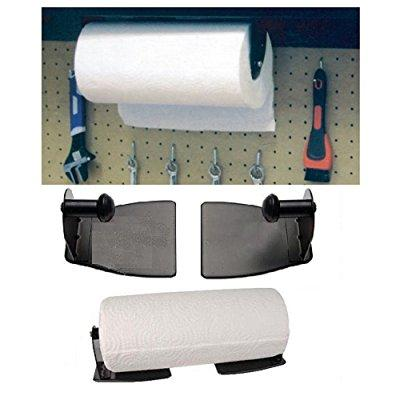 magnetic paper towel holder for kitchen; heavy duty steel...