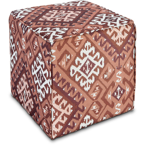 Better Homes and Gardens Pouf, Kilim Aztec