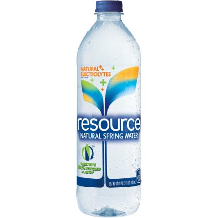 Resource Natural Spring Water  23 7 Fl Oz  24 Count