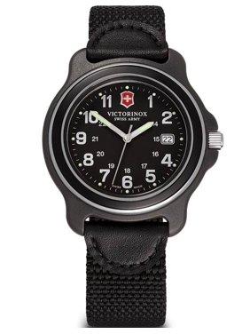 Victorinox Men's Original XL Anniversary Edition Black Dial Watch 43mm