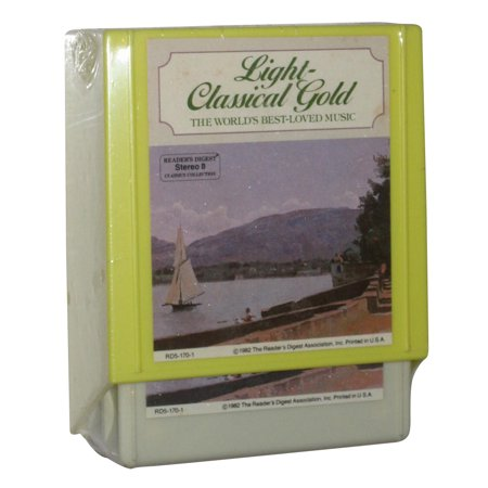Light Classical Gold The World's Best Loved Music 8-Track Tapes 4-5 (1982) Audio Cassette Box Set - (Readers