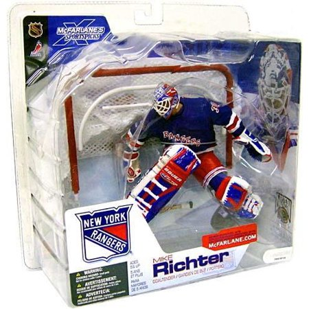 Mcfarlane Nhl Sports Picks Series 4 Mike Richter Action Figure  Blue Jersey Variant