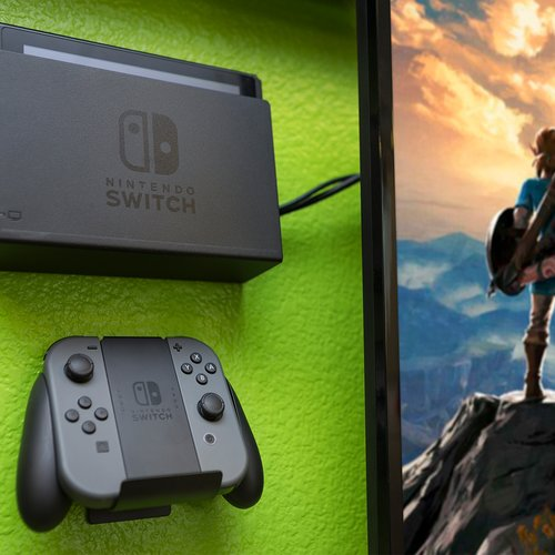 HIDEit Mounts HIDEit Switch and Wall Mount Nintendo Switch Dock