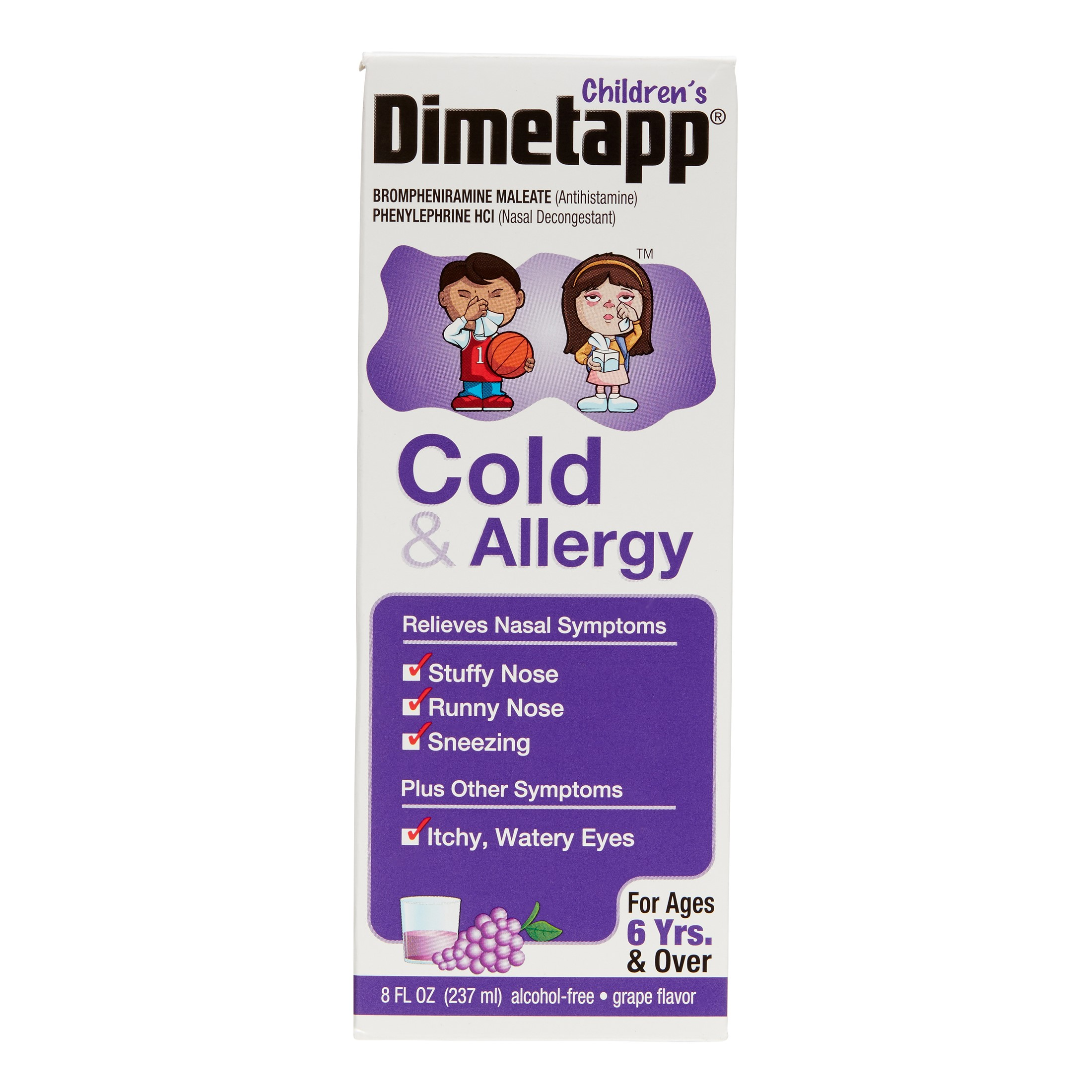 Children's Dimetapp Cold & Allergy Antihistamine & Decongestant Liquid 8 fl oz