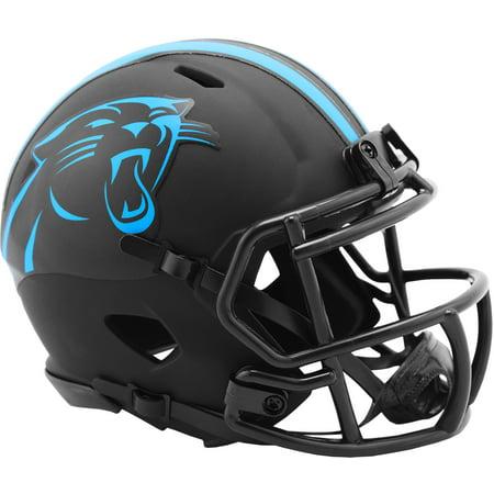 Riddell Carolina Panthers Eclipse Alternate Revolution Speed Mini Football Helmet Riddell Carolina Panthers Replica Helmet