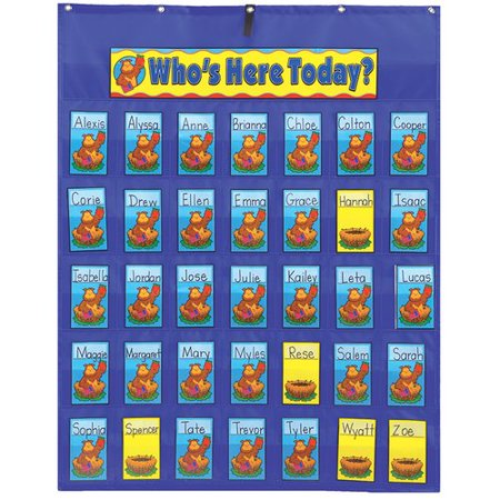 Frank Schaffer Publications/Carson Dellosa Publications Pocket Attendance / Multiuse Chart