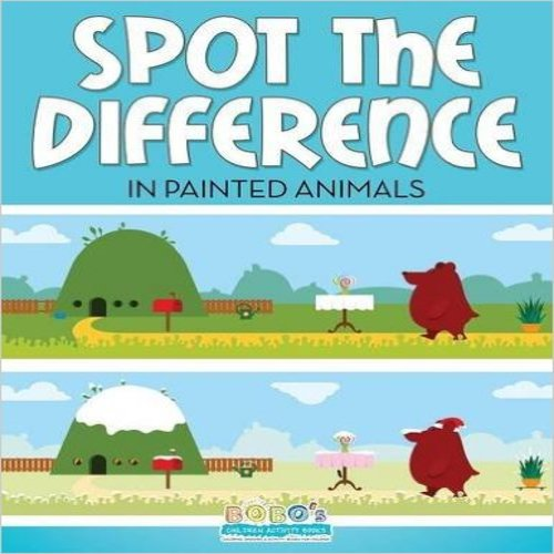 Spot the Difference in Painted Animals