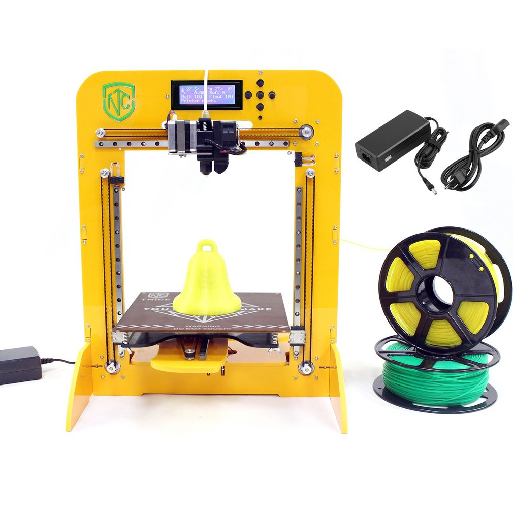 3D Printers DIY Home Office Printer T-23 High Precision Home Level 3D Printer LCD Panel DIY Printing Machine Large Print Size 180*180*180mm