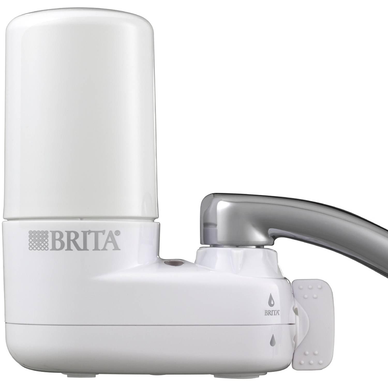 Brita Basic On Tap Faucet Water Filter System, BPA Free