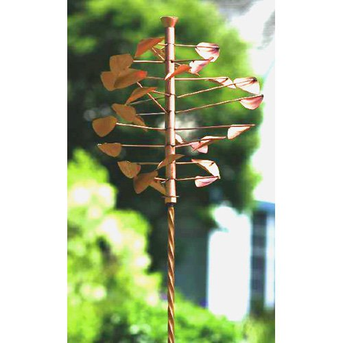 Ancient Graffiti Twisted Stake - Copper Finish