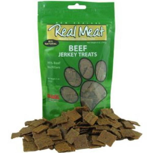 Real Meat Treats - Jerky Dog Treats - 4 oz. - Beef