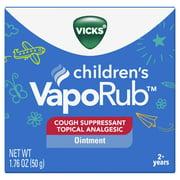 Vicks VapoRub Children's Cough Suppressant Chest Rub Ointment 1.76 oz