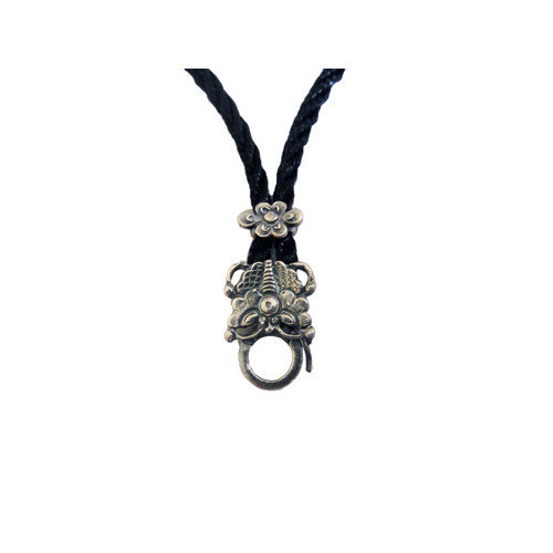 Vivian Yang Sterling Silver Chinese Butterfly Necklace