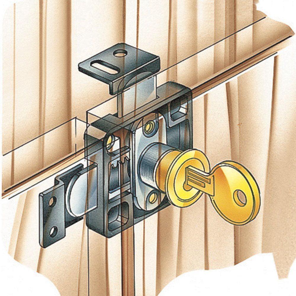 Attirant Double Door Lock, Double Door Lock By Rockler Ship From US   Walmart.com