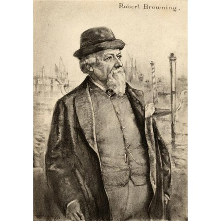 Posterazzi DPI1857491 Robert Browning 1812-1889. English Poet From An Illustration by A.S. Hartrick Poster Print, 12 x 18 - image 1 of 1