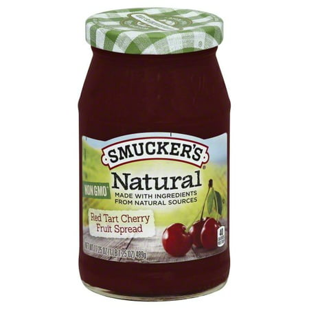 Cherry Honey Spread - (2 Pack) Smucker's Natural Cherry Fruit Spread, 12.75-Ounce Jar