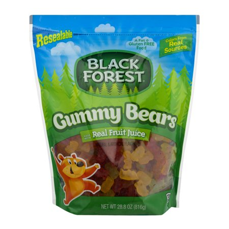 Black Forest Gummy Bears, Assorted Flavors, 28.8 Oz Black Forest Gummy Worms