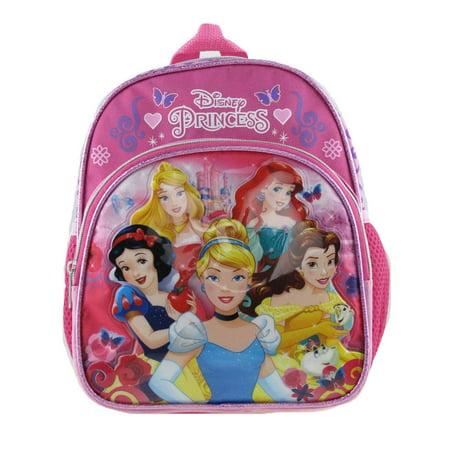 "Mini Backpack - Disney - Princess Shiny Girls 10"" School Bag 004613-2 - image 2 of 2"