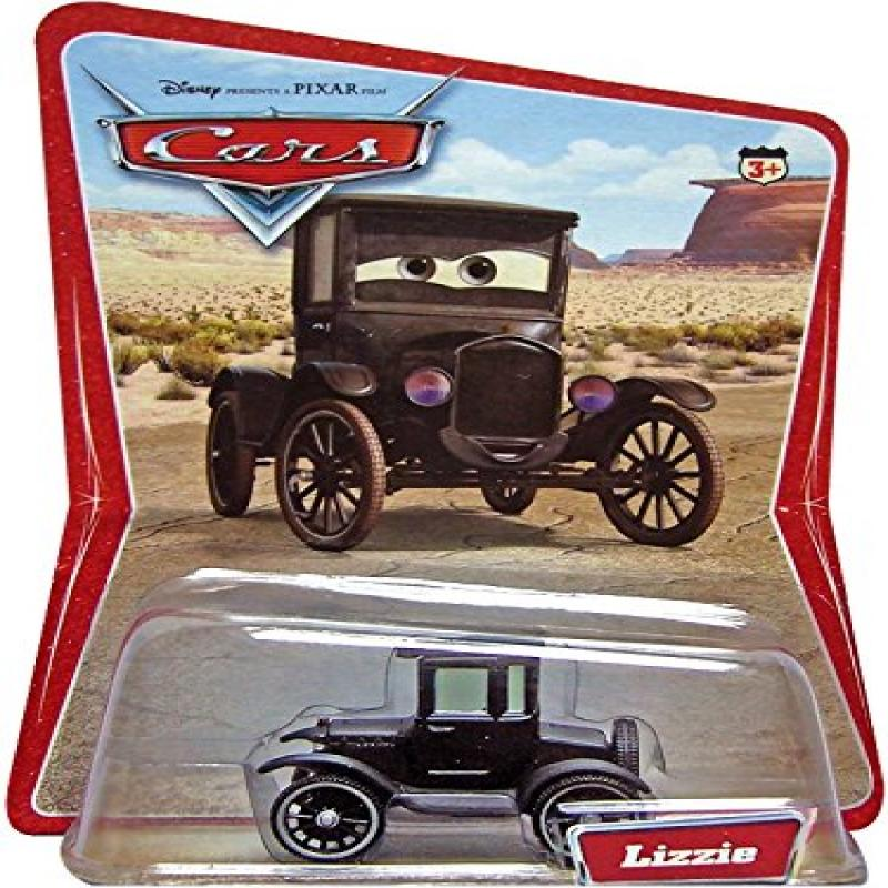 Rare 1st Production Run Lizzie Desert Background 12 Cars on the Back of the Desert Card... by