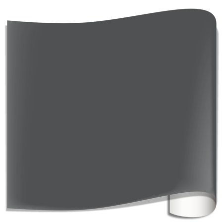 Basic Grey 12x12 Inch Paper - Oracal 631 Matte Vinyl Sheets - Storm Grey