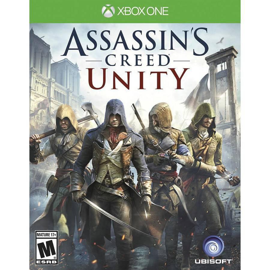 Ubisoft Assassins Creed Unity Xbox One Walmart Com Walmart Com