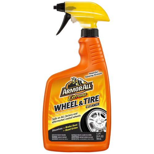 Armor All Extreme Triple Action Wheel and Tire Cleaner, 24oz, Auto Tire Cleaner, Car Tire, Auto Detail, 14415