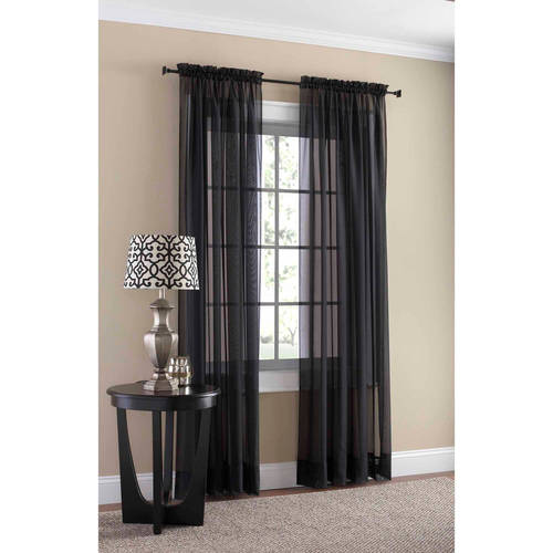 Mainstays Marjorie Window Curtain Panel
